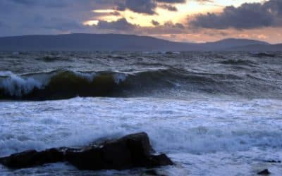 swimming between Ireland and Scotland to mark the Ten Year Anniversary of my English Channel Swim