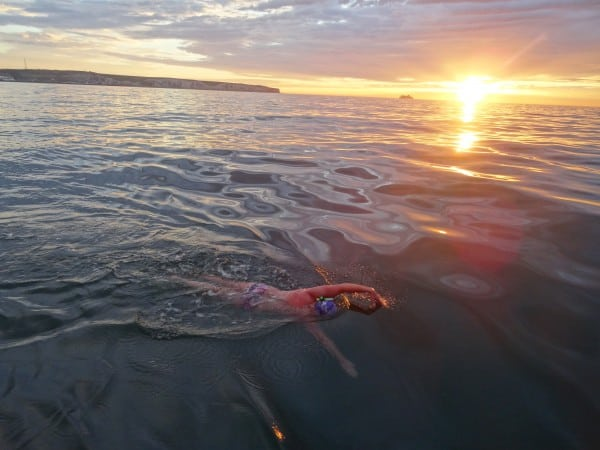 How to Cope with Not completing a swim and what it takes to go back